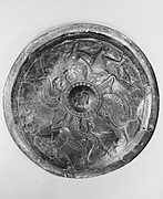 Disc with sphinxes and winged bulls