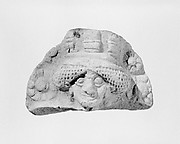 Molded plaque: female head