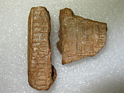 Cuneiform tablet: fragment of an astronomical table (?)