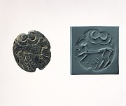 Stamp seal and modern impression: quadruped