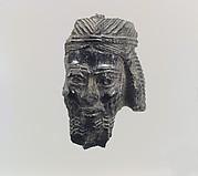 Male head with diadem