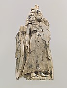 Plaque with a standing figure dressed in Egyptian style