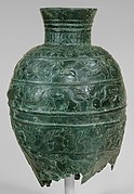 Vessel with six animal friezes