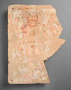 Panel fragment with the god Shiva/Oesho