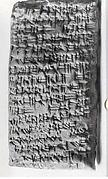 Cuneiform tablet: litigation