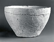 Bowl with punctate decoration