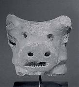 Head of bull
