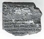 Cuneiform tablet: Shumma alu, tablet 17