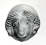 Drinking vessel in the form of a ram's head