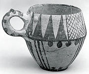 One-handled cup