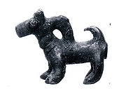 Pendant in the form of a dog