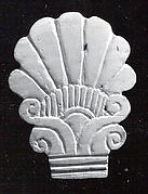 Palmette-shaped plaque