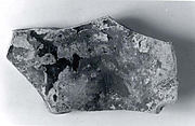 Glass vessel fragment