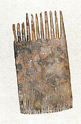 Comb with teeth at each end