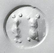 Drilled oval hemispheroid seal