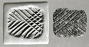 Pyramidal stamping device