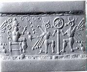 Cylinder seal and modern impression