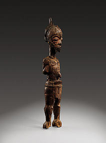 Figure of a leopard chief: Ilunga Mukulu