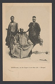 Demba-war, king of Cayor, and his two sons