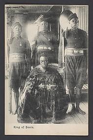 King of Benin (Oba Ovonrramwen Nogbaisi, r. 1888–1914)