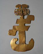 Anthropomorphic figure pendant