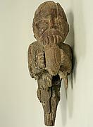 Wooden Monkey Figure