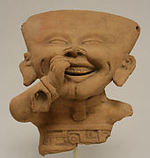 Fragmentary Smiling Figure