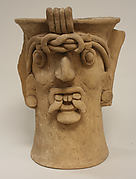 Ceramic Head Vessel