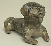 Ceramic Monkey Vessel