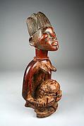 Sango Shrine Figure: Kneeling Female with Bowl