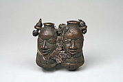Medicine Vessel: Two Figures