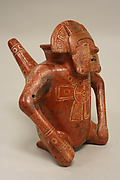 Male Figure Vessel