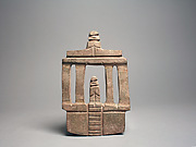 Temple with Figures