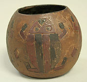 Blackware Vessel with Incised Patterns