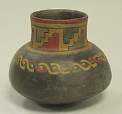 Single Spout Painted Jar