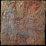 Relief with Enthroned Ruler