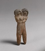 Double-headed figure