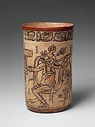 Codex-Style Vase with Mythological Scene