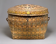 Lidded Storage Basket