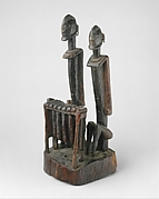 Figure: Pair of Balafon Players