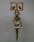 Sango Staff: Male Figure (Ose Sango)