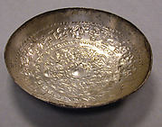Pair of bowls with repoussé work