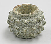 Stone Mace Head with Spikes
