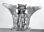 Bat-Head Figure Pendant
