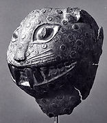 Figure Fragment: Leopard Head