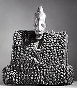 Twin Figure: Male with Garment (Ewu ileke Ibeji)