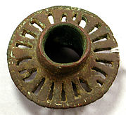 Copper Openwork Mace Head