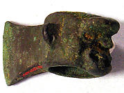 Copper Axe with Head