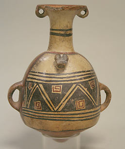 Painted Aryballus Jar