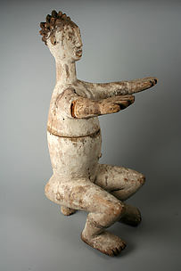 Figurative Vessel: Seated Female (Anjenu)